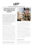 Broschüre Nachsorgeempfehlung Lungengesundheit