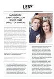 Broschüre Nachsorgeempfehlung - Erneuter Tumor