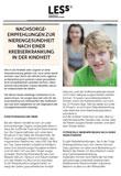 Broschüre Nachsorgeempfehlung Nierengesundheit