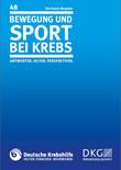 Broschüre Bewegung und Sport bei Krebs