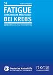 Broschüre Fatigue - Chronische Müdigkeit bei Krebs