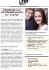 Broschüre Nachsorgeempfehlung Brustkrebsrisiko