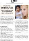 Broschüre Nachsorgeempfehlung Frauen