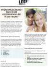 Broschüre Nachsorgeempfehlung Knochen