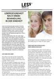Broschüre Nachsorgeempfehlung Lebergesundheit